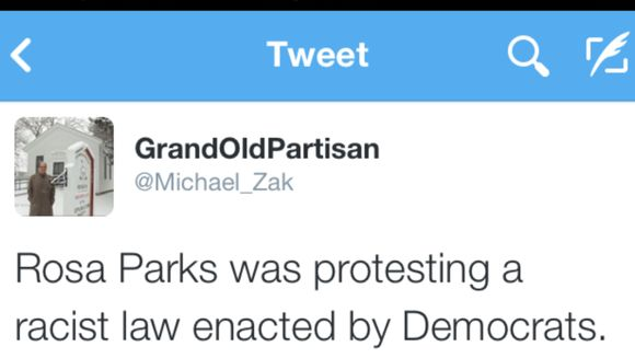 This is what the RNC should have tweeted about Rosa Parks