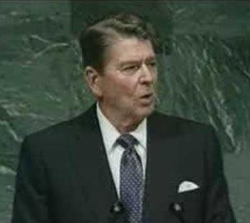 Grand Old Partisan Ronald Reagan And Donald Trump Explaining Free