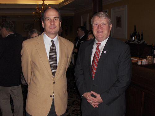 with state delegate Scott Lingamfelter (R-VA)