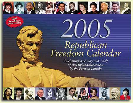 the 2005 Republican Freedom Calendar, by Michael Zak
