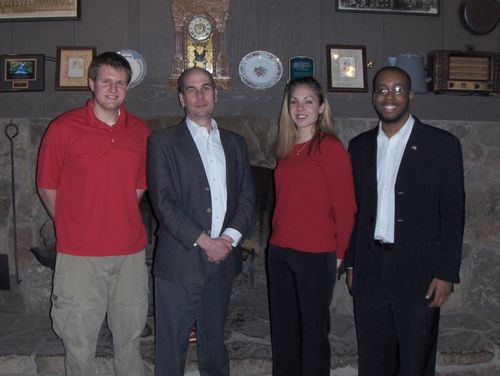 with the board of the Berea College (KY) Young Republicans