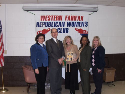 with the board of the Western Fairfax (VA) Republican Women's Club
