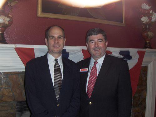 with former Lt. Governor Steve Windon (R-AL)