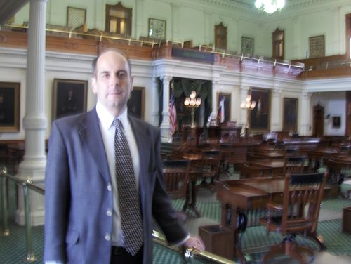 in the Texas state capitol